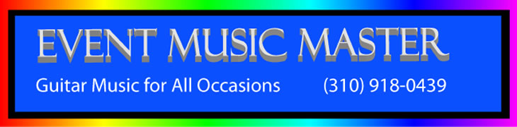 event music master logo for mark fitchett solo jazz guitar